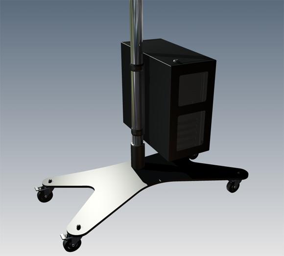 LC-TRAC200 - skrzynka na komputer (średnia) - Akcesoria do wózków