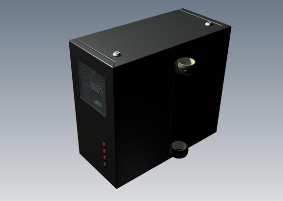 LC-TRAC301 - skrzynka na komputer (duża) - Akcesoria do wózków