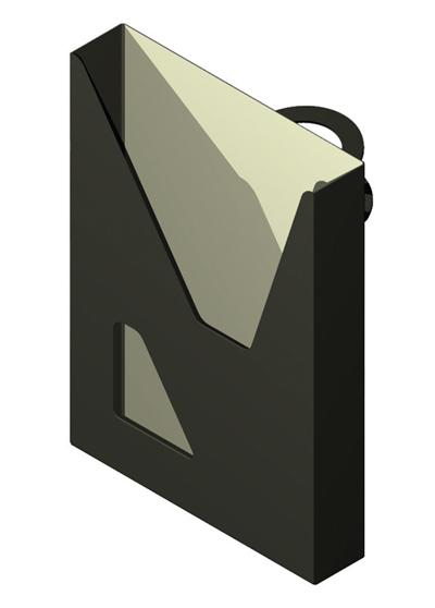 LC-TRAD100 - półka metalowa na dokumenty - Akcesoria do wózków