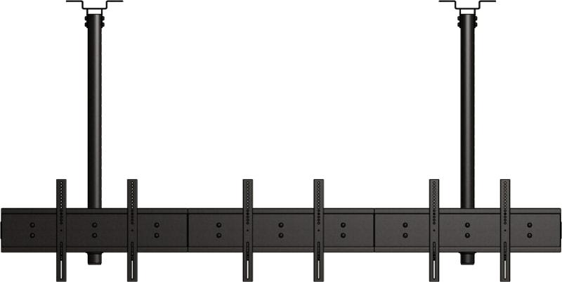 LC-US3155-L - Uchwyt sufitowy do 3 ekranów informacyjnych - Uchwyty do sufitu