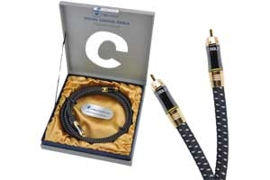Kabel 1RCA-1RCA 1.8m coaxial Cabletech Platinum Edition