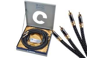 Kabel 2RCA-2RCA 1,8m audio Cabletech Platinum Edition