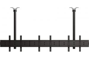 LC-US3155BB-L - Poziomy uchwyt sufitowych na 6 ekranów