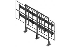 LCS3247-L - Uchwyt stacjonarny do videościany 3x2 / 40