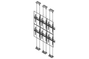 LCFC2347-P - Uchwyt typu sufit-podłoga do videowall 40