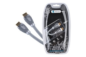 Kabel HDMI-HDMI 1.8m Cabletech Silver Edition
